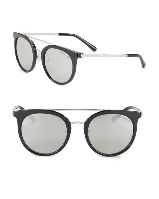 Michael Kors - Black 50mm Phantos Sunglasses - Lyst
