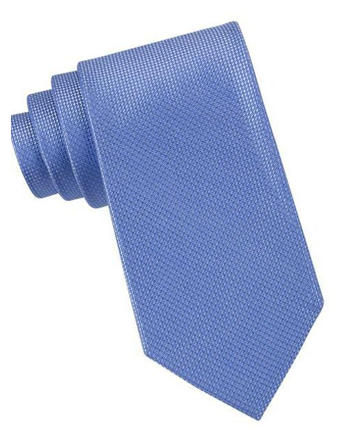 Michael Kors | Blue Sorento Silk Tie for Men | Lyst