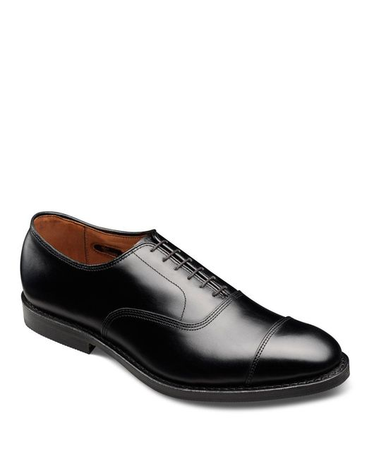 Allen Edmonds - Black Park Avenue Cap-toe Oxfords for Men - Lyst