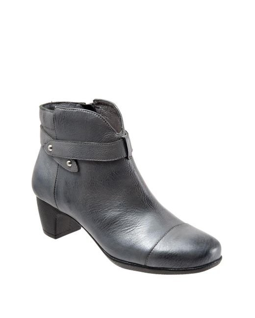 Softwalk® - Multicolor Ivanhoe Leather Booties - Lyst