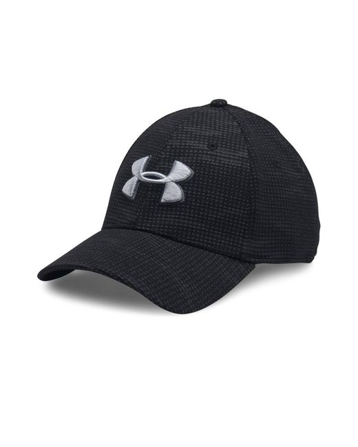 2ba041011ad Lyst - Under Armour Blitzing Stretch Fit Cap in Black for Men