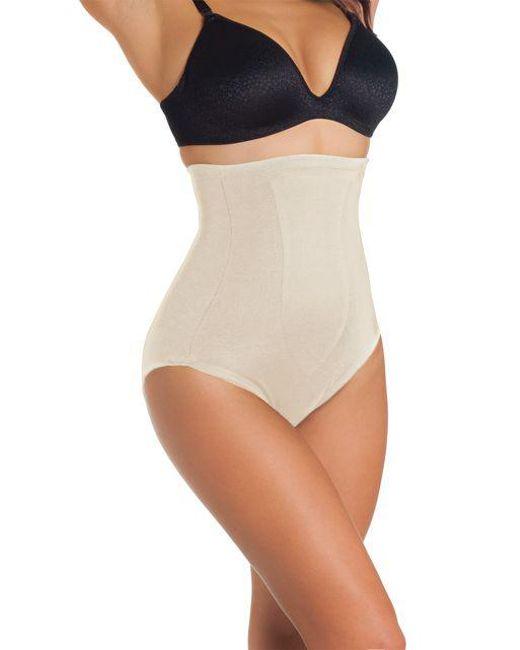 Tc Fine Intimates - Natural Plus Size Hi-waist Briefs - Lyst