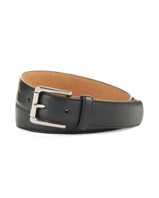 Cole Haan - Black Colebrook Leather Belt for Men - Lyst