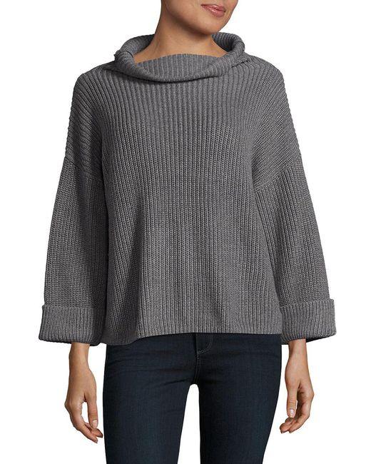 Lord & Taylor - Gray Modish Sweater - Lyst