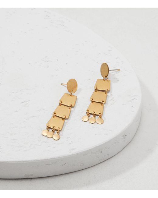 Lou & Grey | Metallic Sandy Hyun Geo Dangle Earrings | Lyst