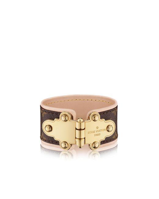 Louis Vuitton | Natural Save It Bracelet | Lyst