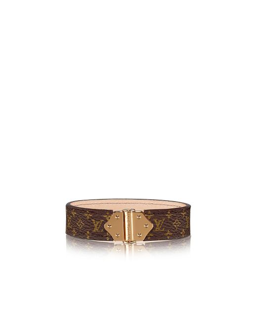 Louis Vuitton | Brown Nano Monogram Bracelet | Lyst