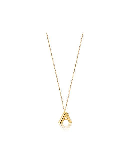 Louis Vuitton   Metallic Lv & Me Necklace, Letter A   Lyst