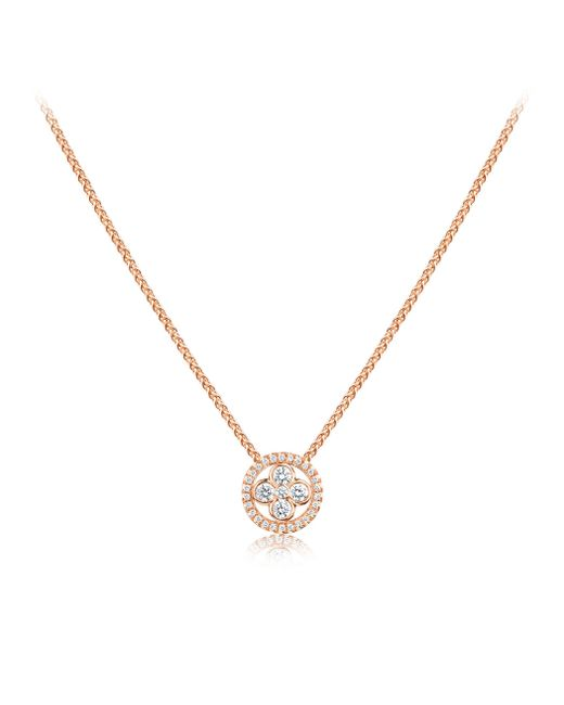 Louis Vuitton | Sun Blossom Pendant, Pink Gold And Diamonds | Lyst