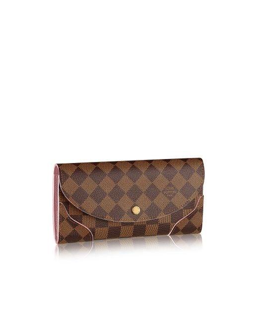 Louis Vuitton | Pink Caïssa Wallet | Lyst