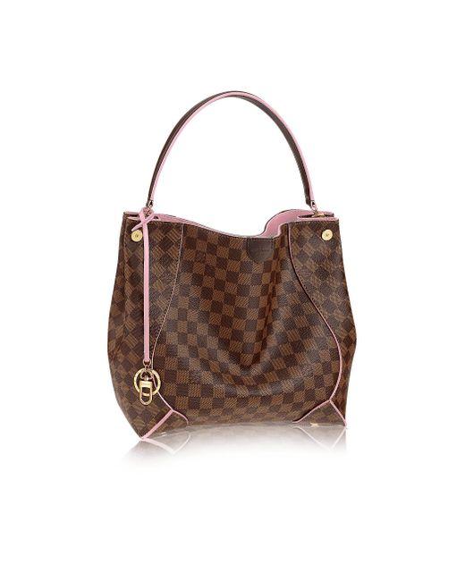 Louis Vuitton   Pink Caïssa Hobo   Lyst