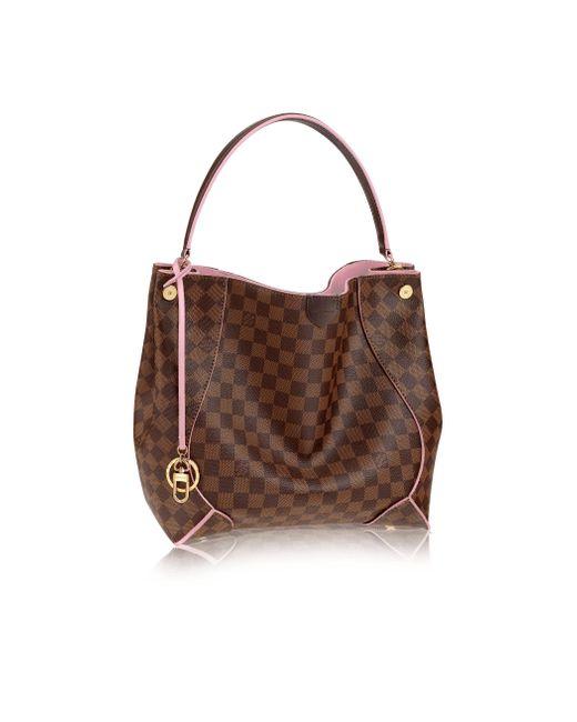 Louis Vuitton | Pink Caïssa Hobo | Lyst