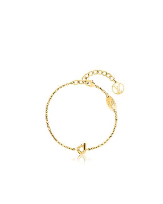 Louis Vuitton | Metallic Lv & Me Bracelet, Letter D | Lyst
