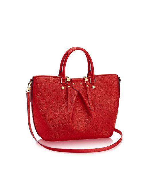 Louis Vuitton | Red Mazarine Mm | Lyst