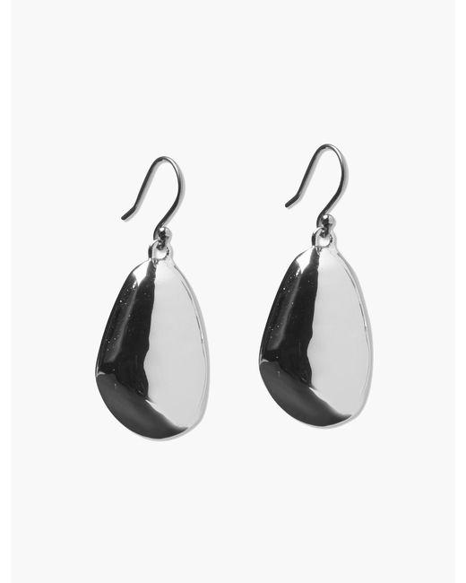 Lucky Brand - Metallic Bean Post Earring - Lyst