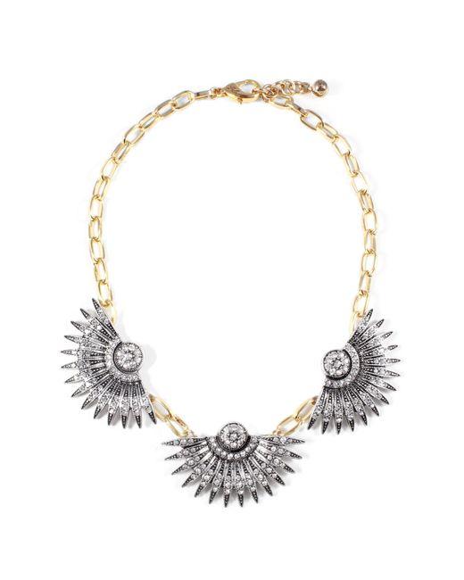 Lulu Frost - Metallic Beacon Triple Necklace - Lyst