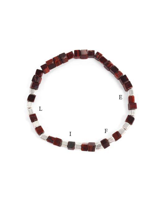 Lulu Frost - Multicolor George Frost Morse Code Tiger's Eye Bracelet - Life - Lyst