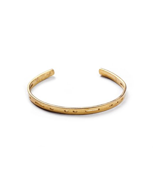 Lulu Frost | Metallic George Frost G. Frost Dot Dash Cuff- Trust for Men | Lyst