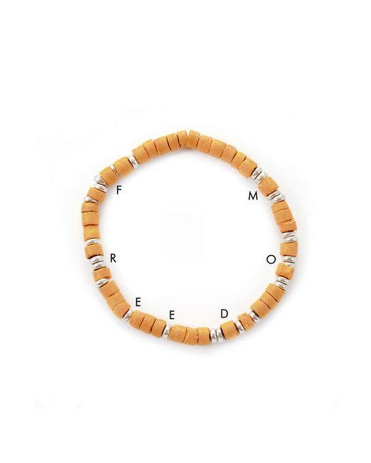 Lulu Frost | Brown George Frost G. Frost Wooden Morse Bracelet Saffron for Men | Lyst