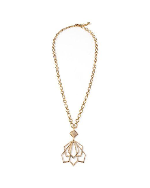 Lulu Frost | Metallic Portico Pendant Necklace | Lyst