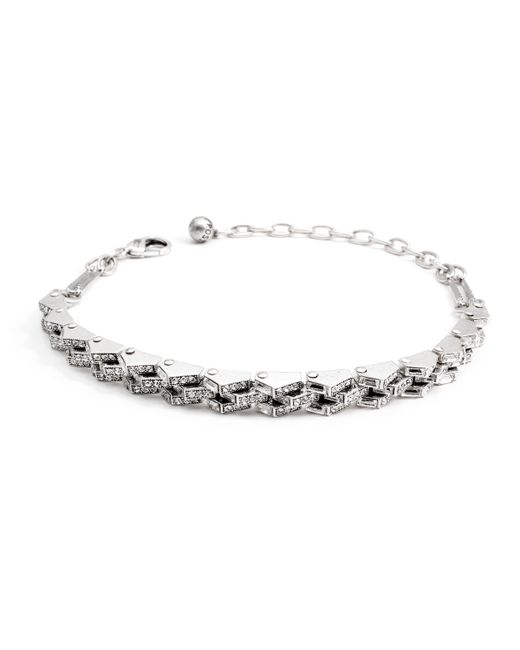 Lulu Frost | Metallic Satellite Thin Choker | Lyst
