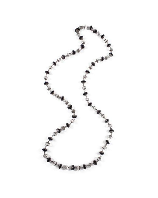 Lulu Frost | Metallic *vintage* Black + Crystal Cut Glass Necklace | Lyst