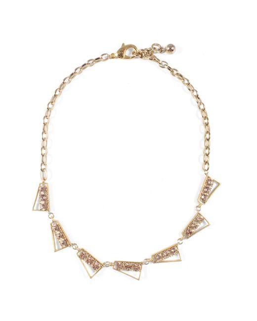 Lulu Frost - Metallic Bora Link Necklace - Lyst