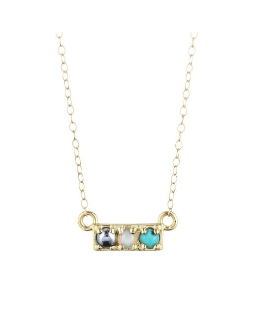 Lulu Frost - Multicolor Code Word Hot Necklace 18k Gold - Lyst