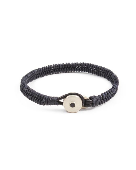 Lulu Frost - Blue George Frost Brave & New Woven Bracelet - Navy for Men - Lyst