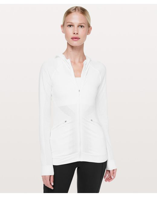 lululemon athletica - White Ventilate Jacket - Lyst