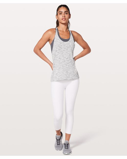 08c8acb71f ... lululemon athletica - White Twist   Toil Tank  medium Support For A C d  Cup