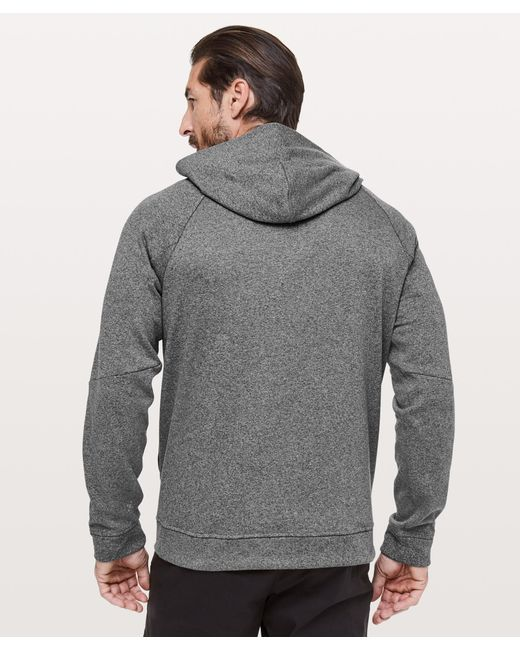 bc55d9886 ... lululemon athletica - Gray City Sweat Pullover Hoodie  thermo for Men -  Lyst ...