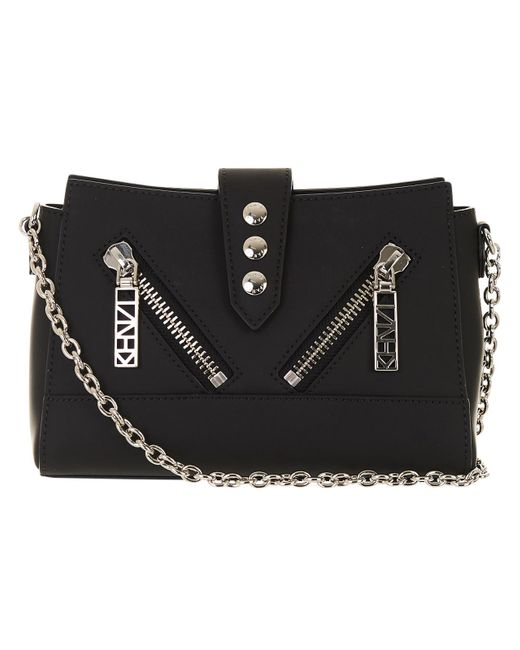 KENZO - Black Women's Kalifornia Mini Shoulder Bag - Lyst