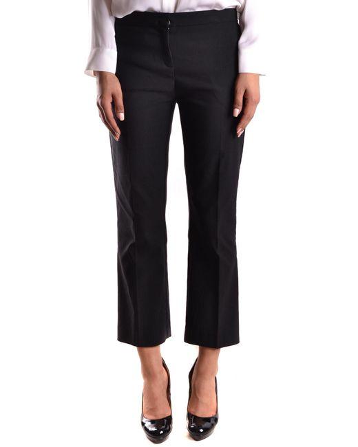 Pinko - Black PINKO Trousers - Lyst