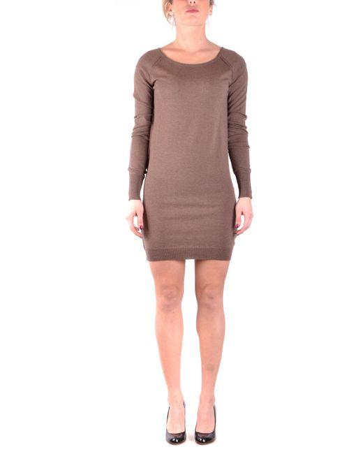 Pinko - Brown PINKO Dress - Lyst