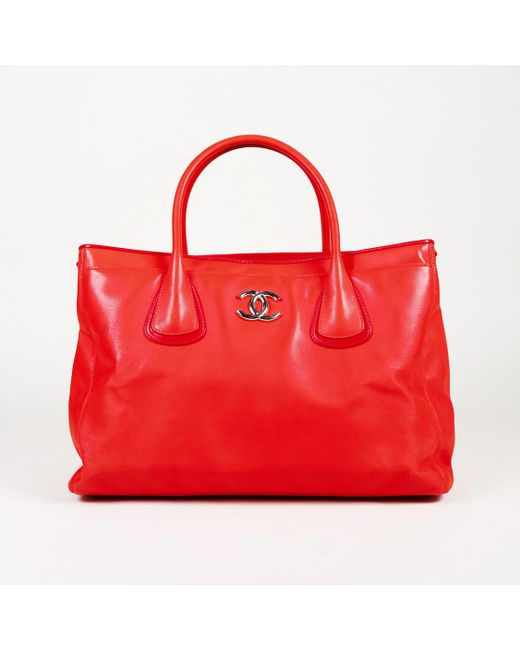 a3642c37841e4a Chanel - Red 2008-2008 Lambskin Leather