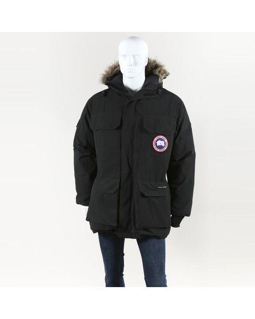 "Canada Goose - Black ""expedition Parka"" Coyote Fur Coat Men's for Men - Lyst"