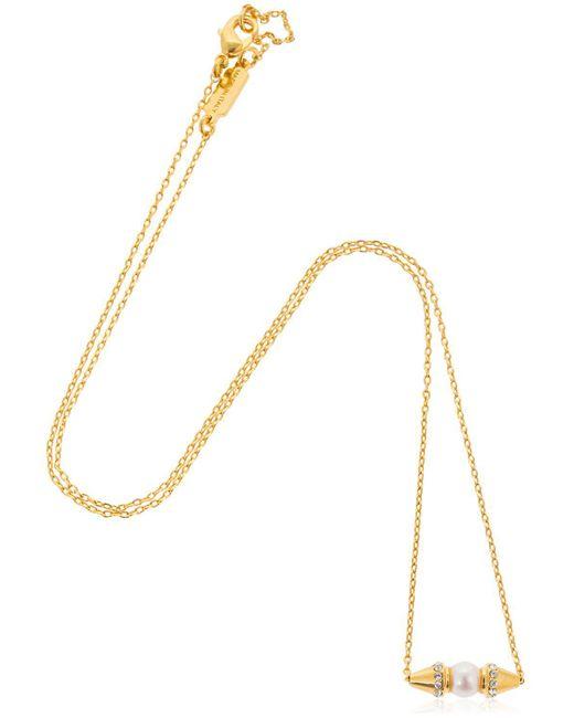 Vita Fede - Metallic Renata Pearl Necklace - Lyst