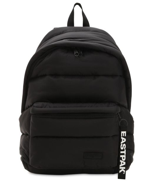 Eastpak - Black 30l Padded Xxl Quilted Nylon Backpack - Lyst