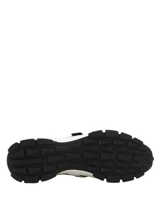 Section En Lyst Cross Baskets Slip Pour Prada Homme Nylon On WIrqFI6