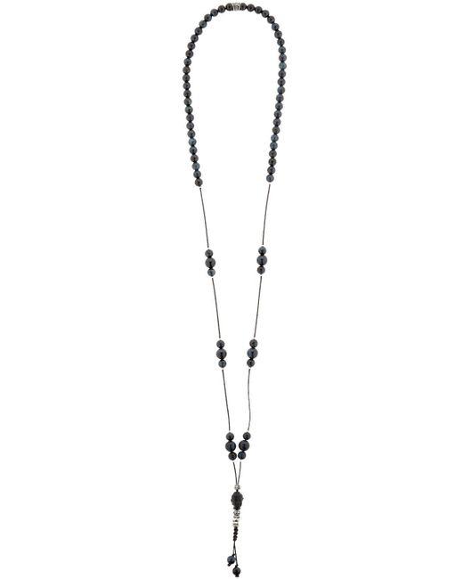 Cantini Mc Firenze | Blue Cromomalas Tiger's Eye Necklace | Lyst