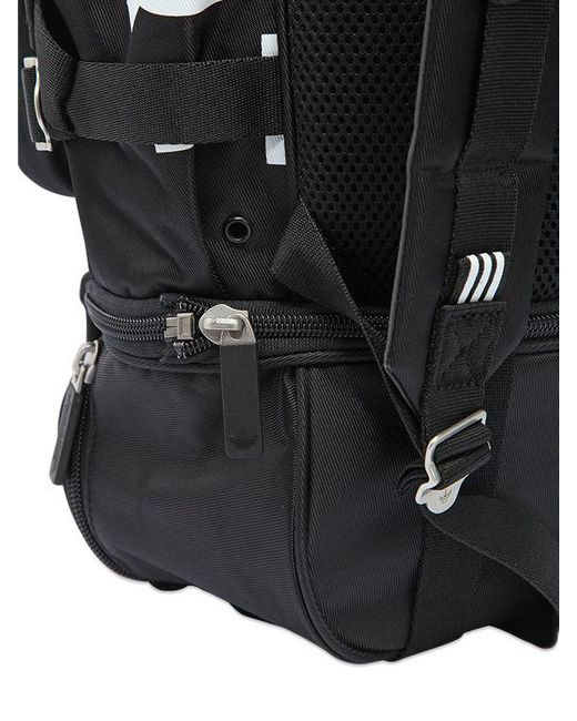 136a158c4b ... Lyst Adidas Originals - Black Eqt Nylon   Mesh Backpack for Men ...