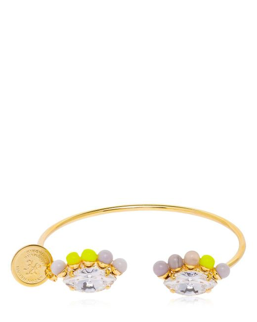 Anton Heunis - Yellow Color Block Bracelet - Lyst
