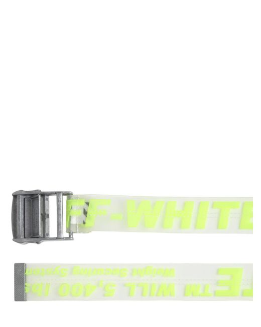 ... Off-White c o Virgil Abloh - Multicolor Ceinture Avec Logo 35 Mm for 8a4909f73fd