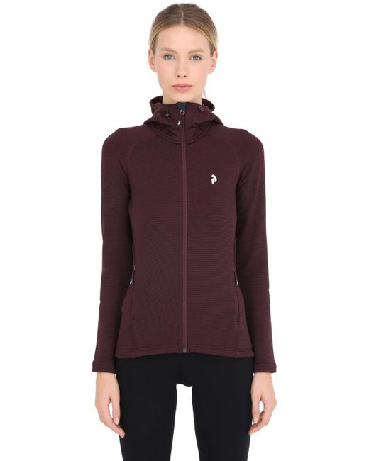 Peak Performance | Multicolor Waitara Outdoor Hoody Mid Layer Jacket | Lyst