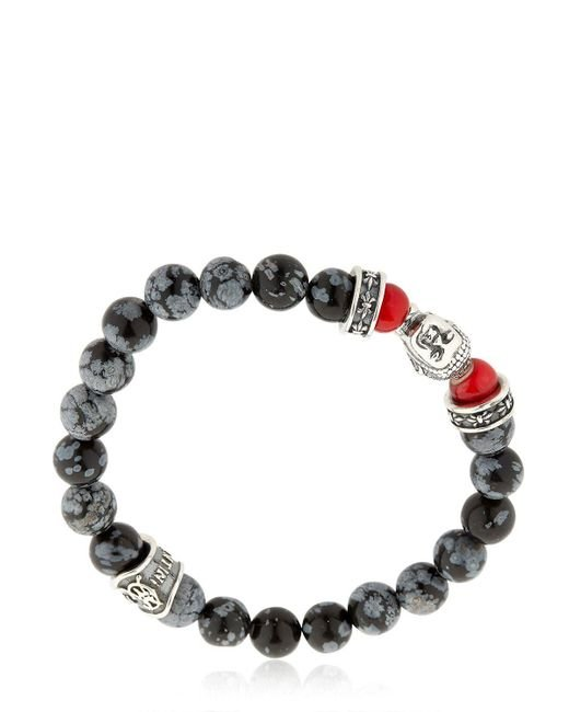 Cantini Mc Firenze | Gray Buddha Bracelet | Lyst