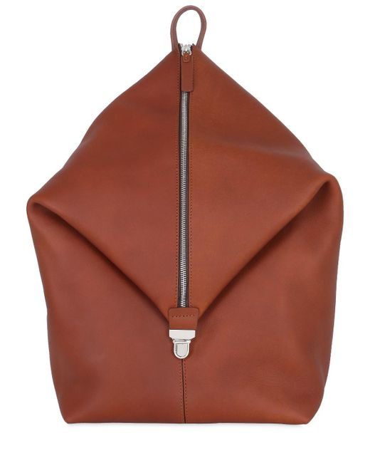 Bonastre - Multicolor Mono Strap Leather Backpack - Lyst