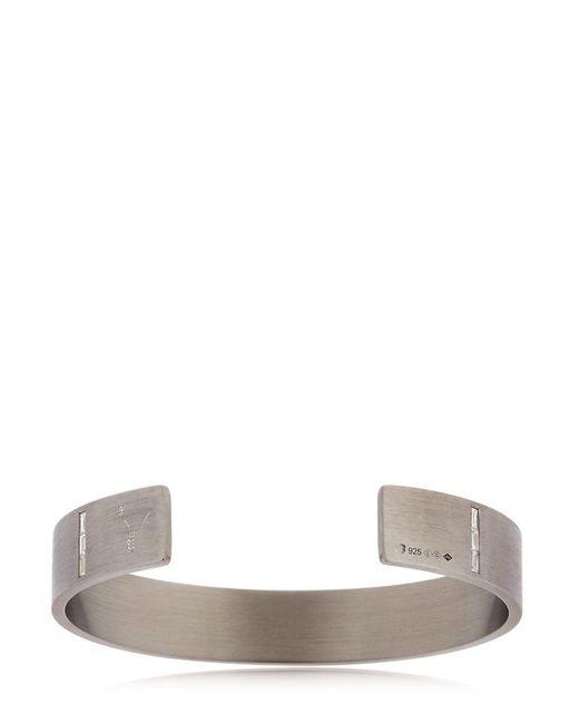 Le Gramme - Black Special Edition Le 33 Silver Bracelet for Men - Lyst