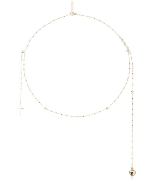 Givenchy - Metallic Rosario Necklace - Lyst