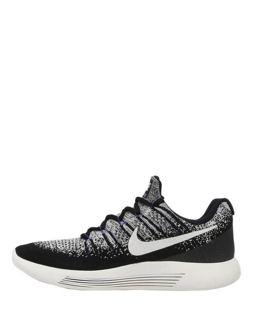 9d4713a8fd9 ... Nike - Black Nikelab Lunarepic Flyknit 2 Sneakers - Lyst ...